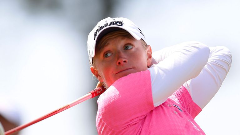 Stacy Lewis: Shot a two-under-par 69