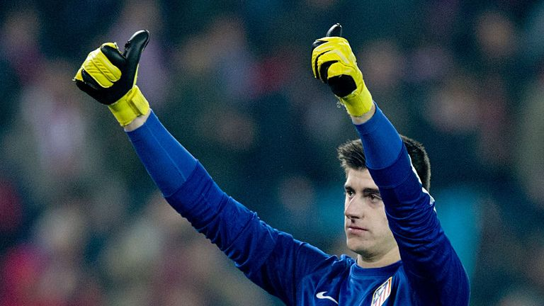 Thibaut Courtois: Belgian goalkeeper is rated highly by Gianluigi Buffon