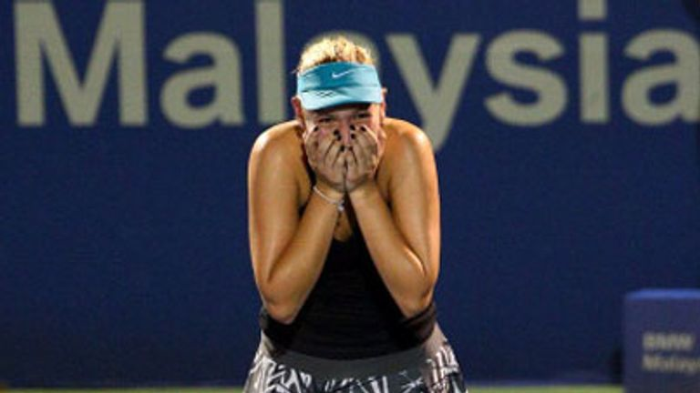Donna Vekic: The 17-year-old won the Malaysian Open