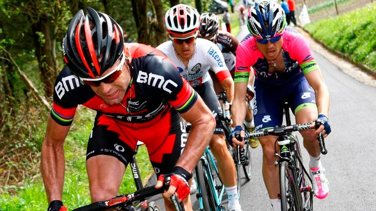 Cadel Evans: Showing good form in Trentino