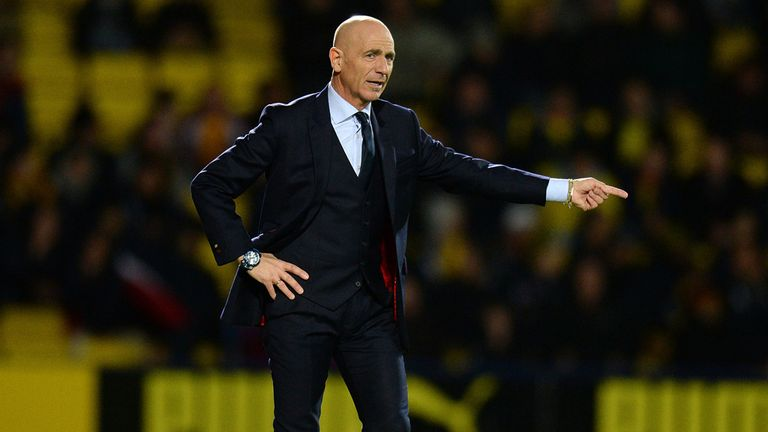 Giuseppe Sannino: Starts the season by welcoming Bolton to Vicarage Road