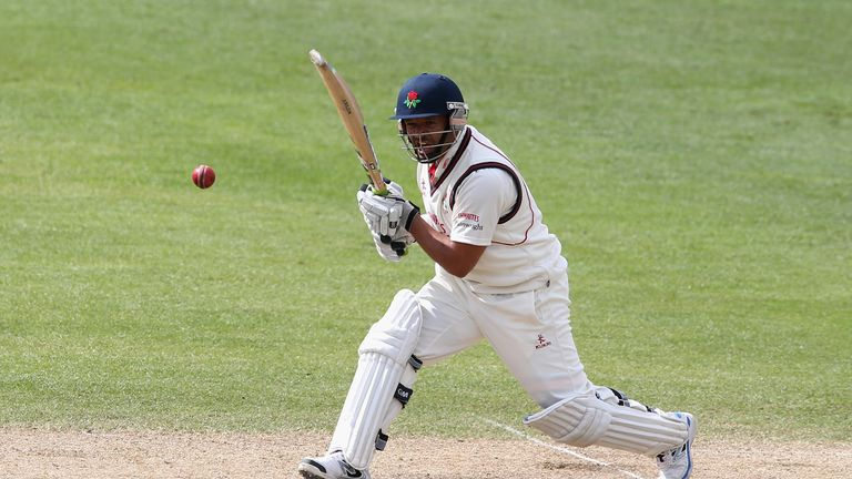 Ashwell Prince: Hit a century in the first game of his final season before retiring