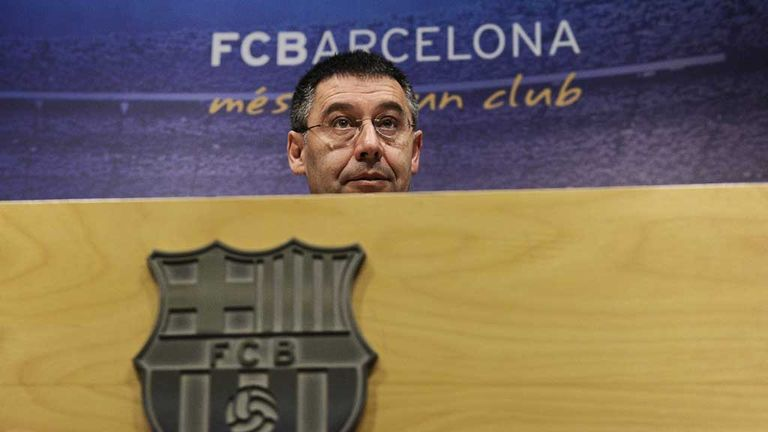 Josep Maria Bartomeu: Barcelona president angered by FIFA sanctions
