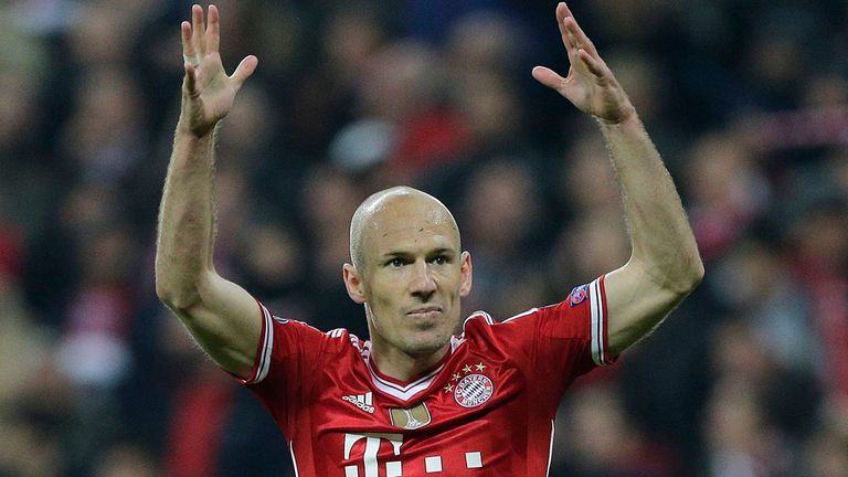 Arjen Robben: Bayern Munich winger ready to face Real Madrid