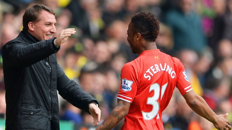 Brendan Rodgers: Has built his side around likes of Raheem Sterling