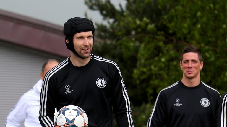 Petr Cech: Linked with move away from Chelsea