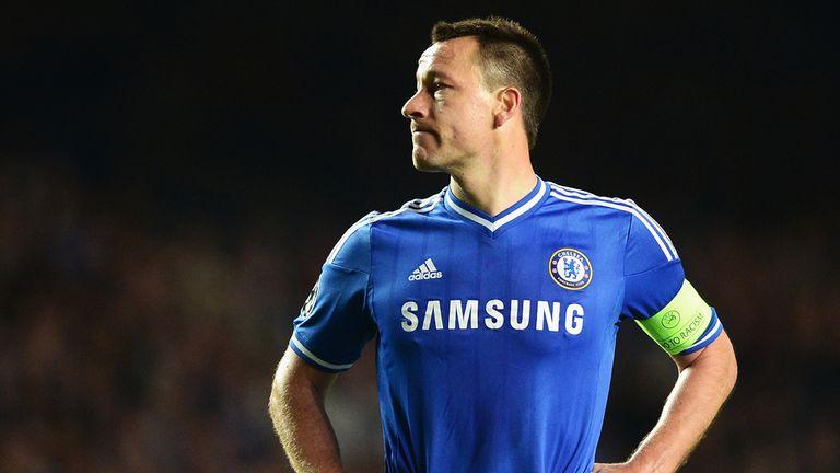 John Terry: Chelsea captain earned a new one-year deal late last season