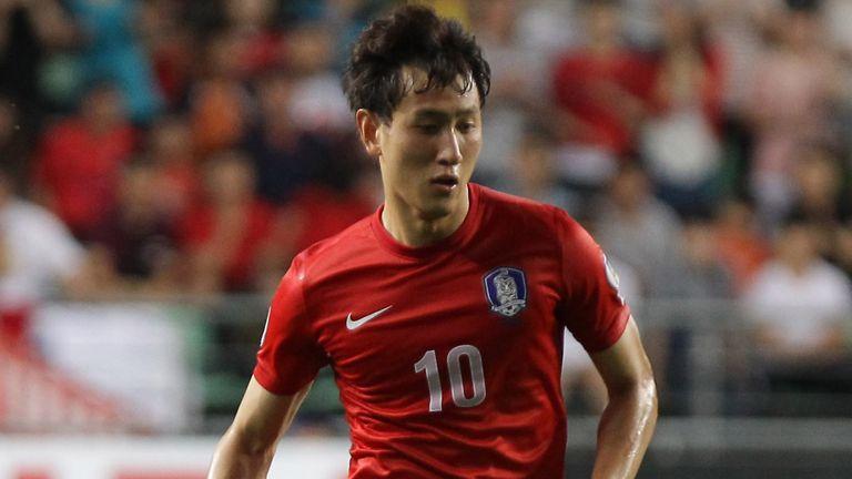 Ji Dong-Won of South Korea