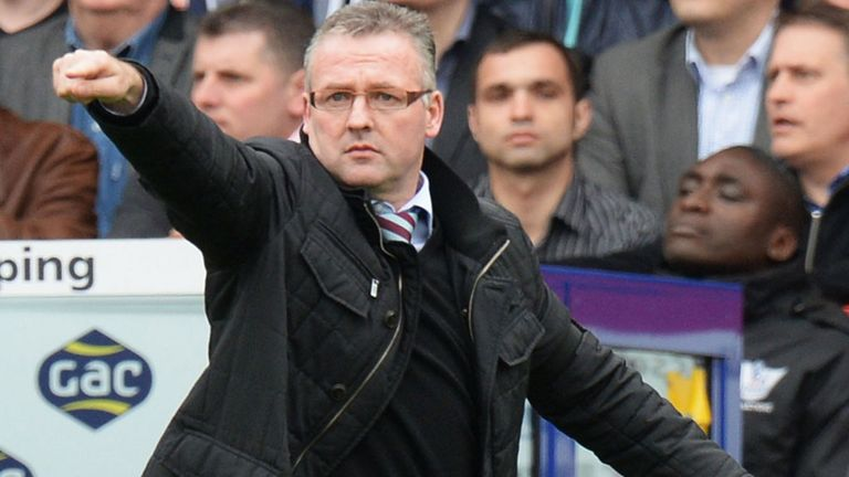 Paul Lambert: Aston Villa boss hoping to make prominent signings this summer