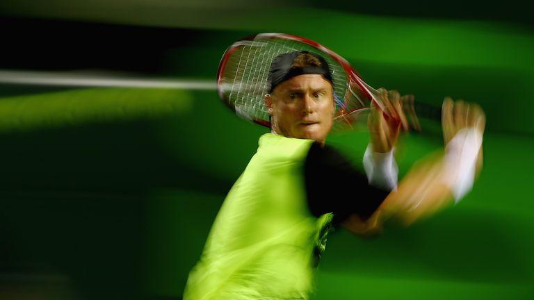 Lleyton Hewitt: Needed three sets to progress