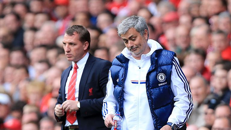 Jose Mourinho: Guided Chelsea to a 2-0 win at Anfield