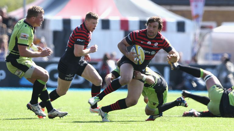 Marcelo Bosch: Scored the third of Saracens' two tries