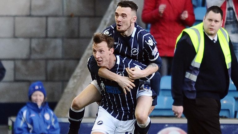 Martyn Woolford: Netted a late leveller for Millwall