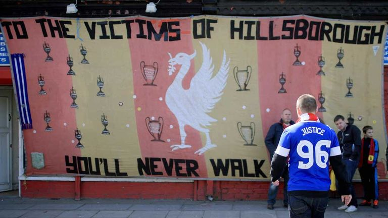 Bells were rung 96 times across Merseyside to mark the 25th anniversary of the Hillsborough disaster
