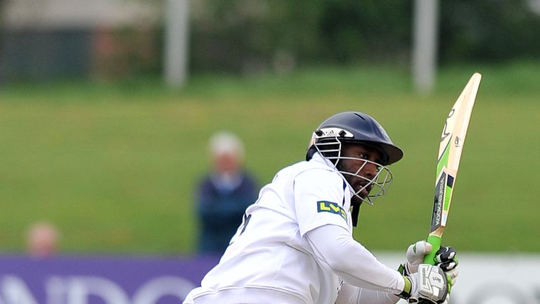 Michael Carberry: Reminded the England selectors of his class with 125 on day four at New Road
