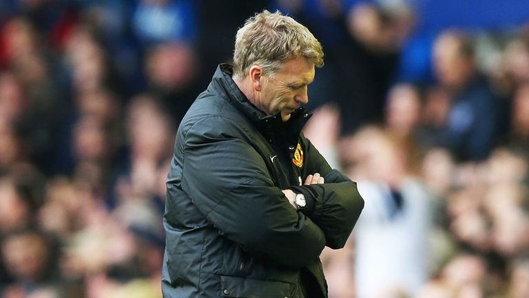 David Moyes: Lasted less than a year at Old Trafford