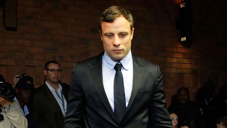 Oscar Pistorius: The Paralympian has finished his five-day stint giving evidence