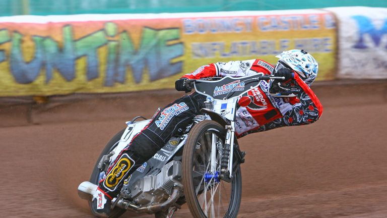 Steve Worrall: Permanent move to Belle Vue (picture credit Les Aubrey)