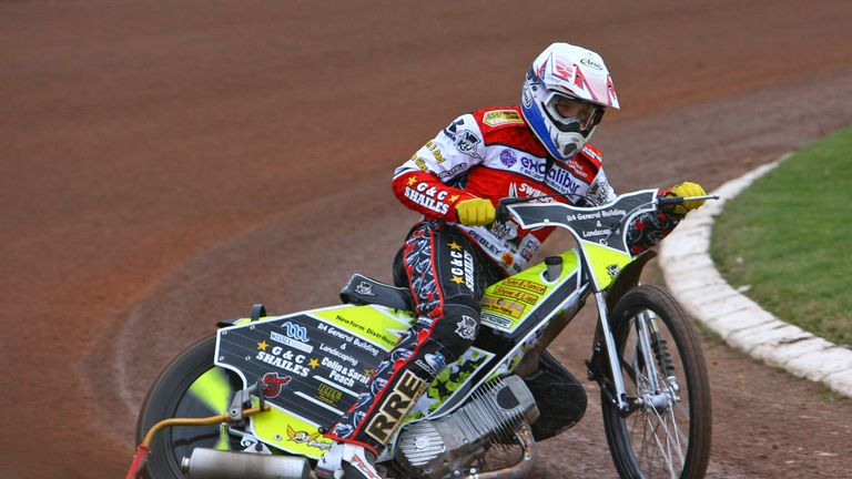 Daryl Ritchings: Sidelined with broken ankle (picture credit Les Aubrey)