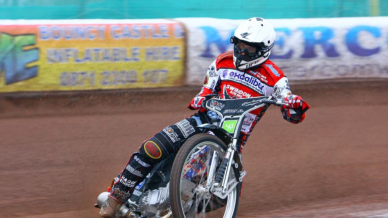 Simon Gustafsson: Fine form for Poole (pic: Les Aubrey)