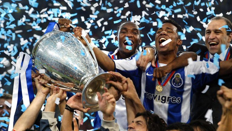 Porto: Unlikely winners in 2004