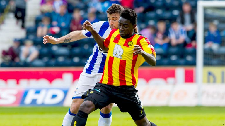 Alexei Eremenko: Finland international back with Kilmarnock