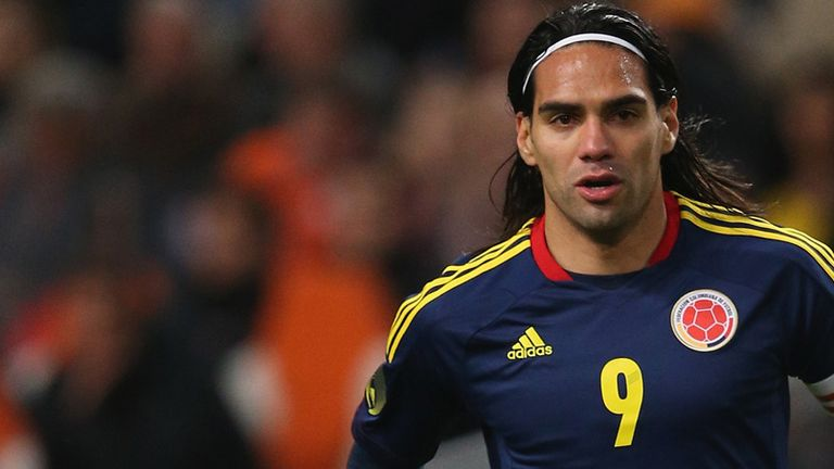 Radamel Falcao: Named in Colombia's 30-man provisional squad