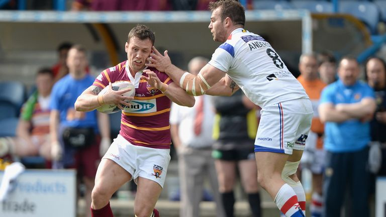 Shaun Lunt: Will remain at Huddersfield Giants despite recent rumours