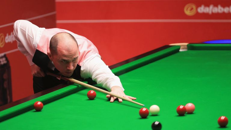 Joe Perry: Englishman won six frames in a row on Monday morning
