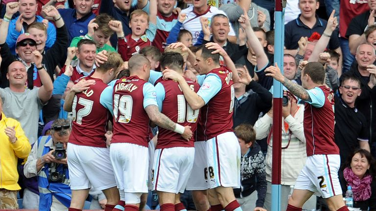 Burnley: Celebrate Ashley Barnes' 22nd-minute volley