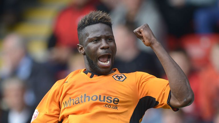 Bakary Sako: One of five Wolves players in the PFA Team of the Year