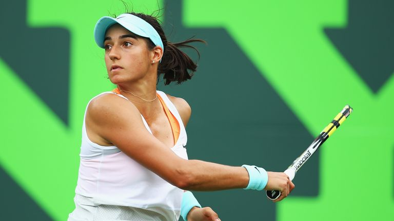 Caroline Garcia: Claimed maiden WTA success