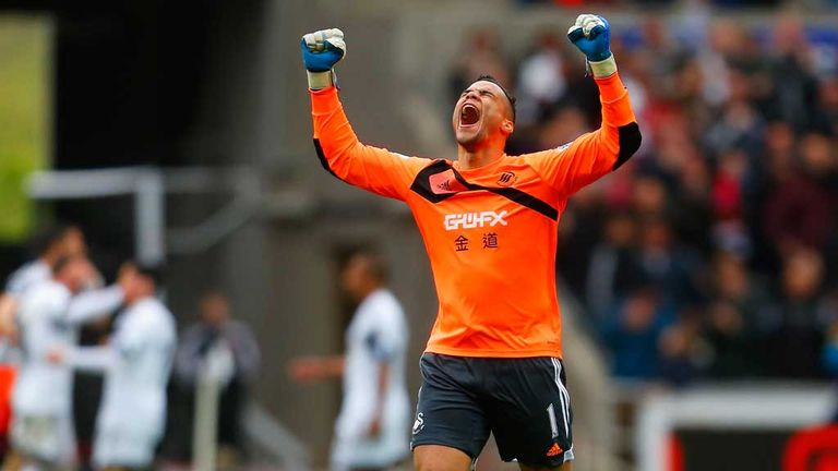 Michel Vorm: Goalkeeper taking on a new challenge at Tottenham after leaving Swansea