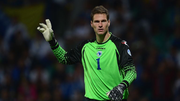 Asmir Begovic: Optimistic ahead of Bosnia's World Cup bow
