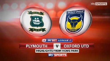 Plymouth 0-2 Oxford