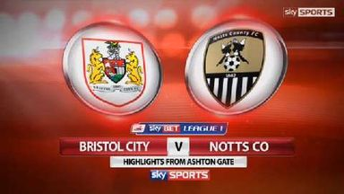 Bristol City 2-1 Notts County