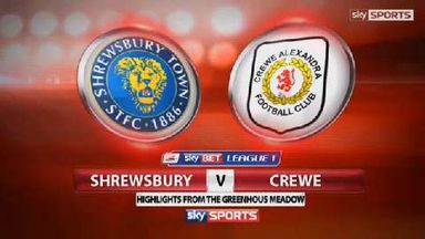 Shrewsbury 1-3 Crewe