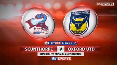 Scunthorpe 1-0 Oxford