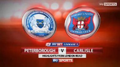 Peterborough 4-1 Carlisle