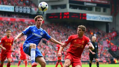 Tomas Kalas made his full Chelsea debut in the 2014 win at Anfield that cost Liverpool the Premier League title