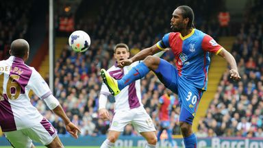 Cameron Jerome helped Palace to a vital win over Aston Villa