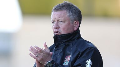 Chris Wilder: Result the most important thing