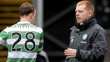 Leigh Griffiths: Talking to boss Neil Lennon at Tannadice