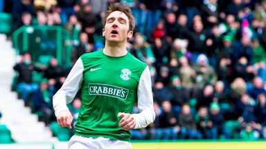 Paul Heffernan: Hibernian striker is out for the remainder of the season
