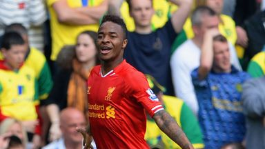 Raheem Sterling: Liverpool winger was brilliant against Norwich