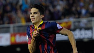 Mark Bartra: Would be sad to see Xavi leave