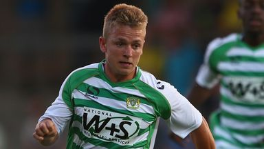 Sam Hoskins: Back at Huish Park