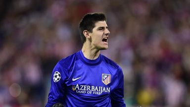 Thibaut Courtois: Wants to beat parent club Chelseay