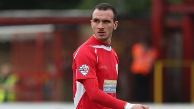 Tom Aldred: Impressed for Accrington