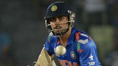 Virat Kohli: Steered the Royal Challengers to their target with unbeaten 49